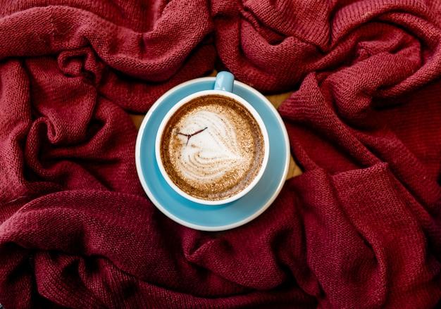 Vintage achtergrond van koffie & food fotografie voor design.