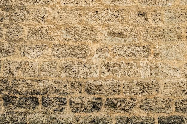 Vintage achtergrond van oude bakstenen textuur