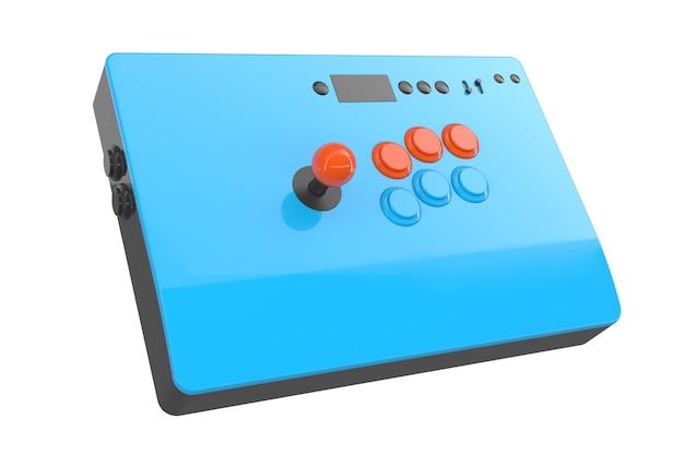 Vintage arcade-stick met joystick en toernooikwaliteit-knoppen