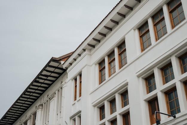 Vintage architectuur in de stad