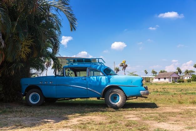Vintage auto rijden in cuba