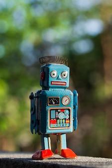 Vintage blikken speelgoedrobot