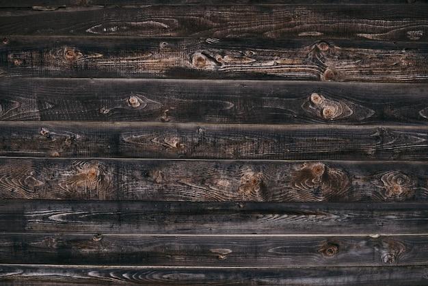 Vintage bruin houtstructuur met knopen.