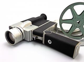 Vintage camera, camera