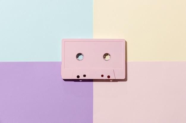Vintage cassette-arrangement