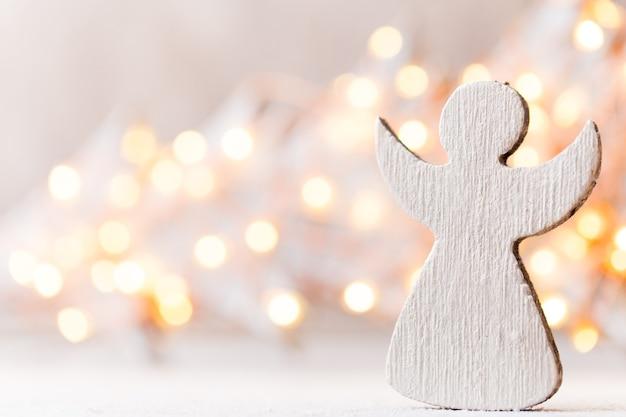 Vintage christmas achtergrond met kerstversiering