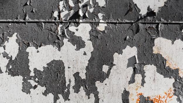 Vintage donkergrijs met witte vlekken