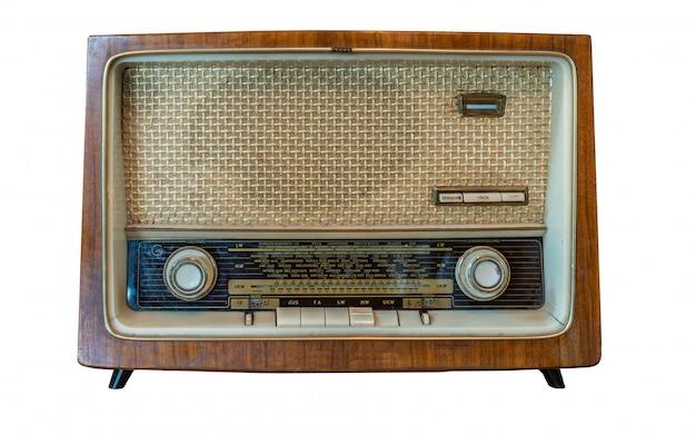 Vintage draagbare radio