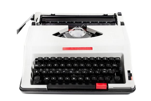 Vintage draagbare schrijfmachine