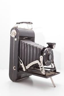 Vintage en retro camera in de studio