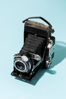 Vintage fotocamera samenstelling