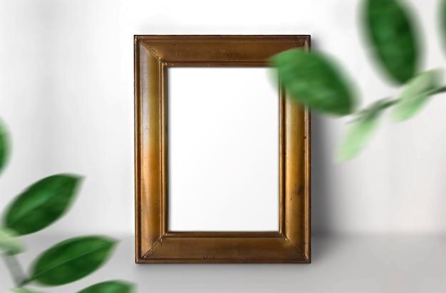 Vintage frame met planten
