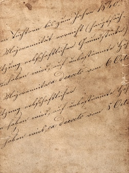 Vintage handschrift met ongedefinieerde latijnse tekst. manuscript. perkament. grunge donker papier achtergrond