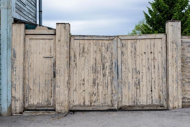 Vintage hek