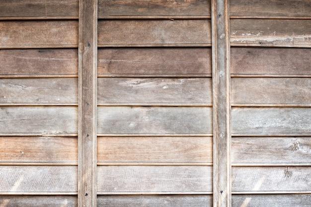Vintage houten muur achtergrond textuur