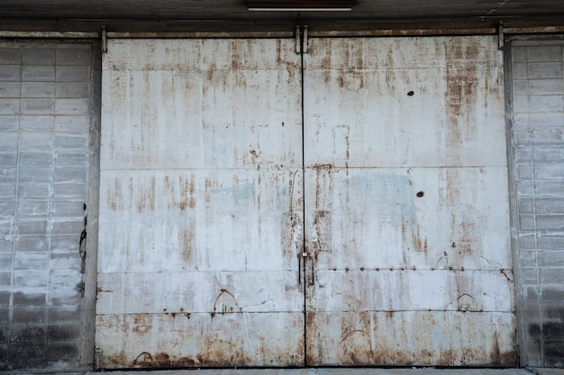 Vintage ijzeren poort achtergrond