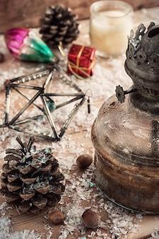 Vintage kerstkaart