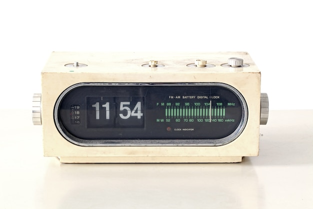 Vintage klokradioset