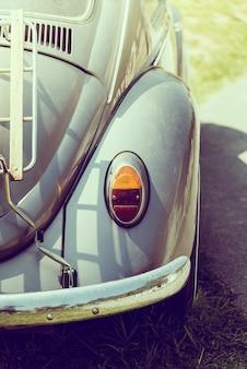 Vintage koplamp auto