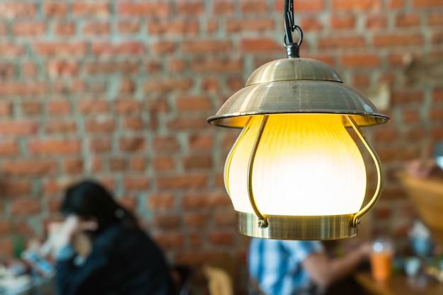 Vintage lamp decoratie