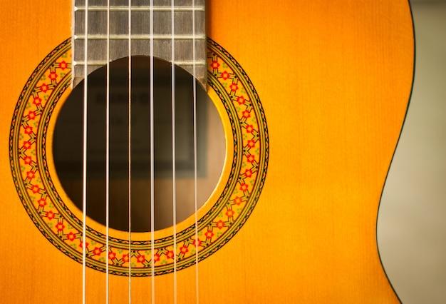 Vintage melodie fretboard zwarte muziek instrument