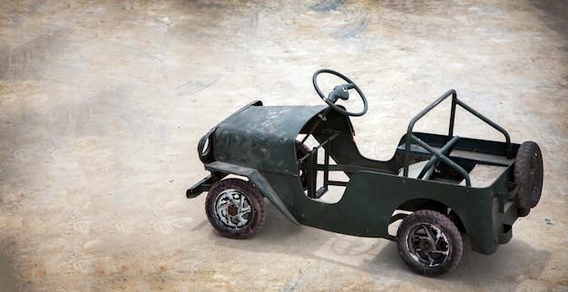 Vintage mini-auto speelgoed