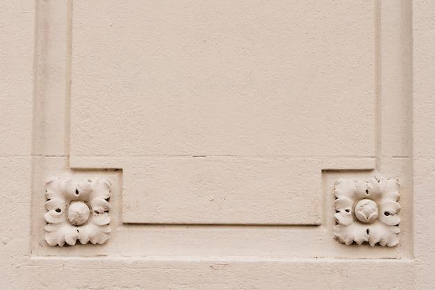 Vintage mooie achtergrondstructuur met vierkante flowes
