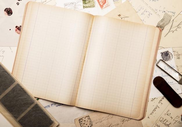 Vintage papier voor correspondentie