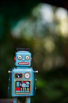 Vintage robot blikken speelgoed