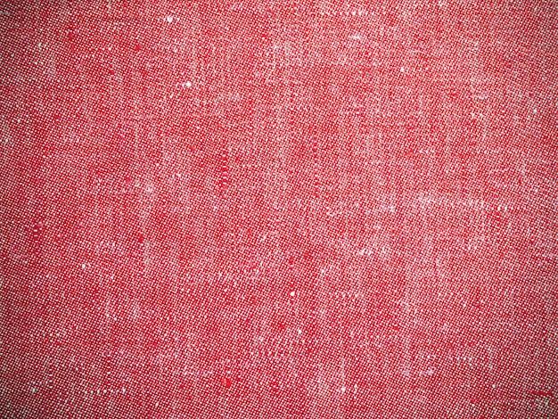 Vintage rode textuur linnen stof