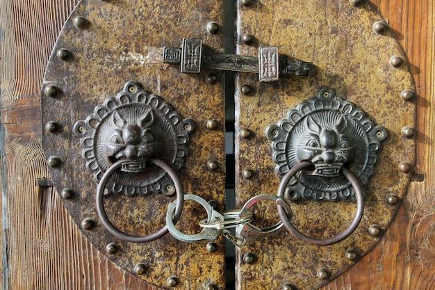 Vintage sleutelhandvatten