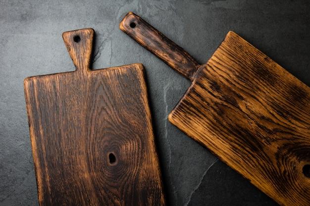 Vintage snijplanken kopiëren ruimte