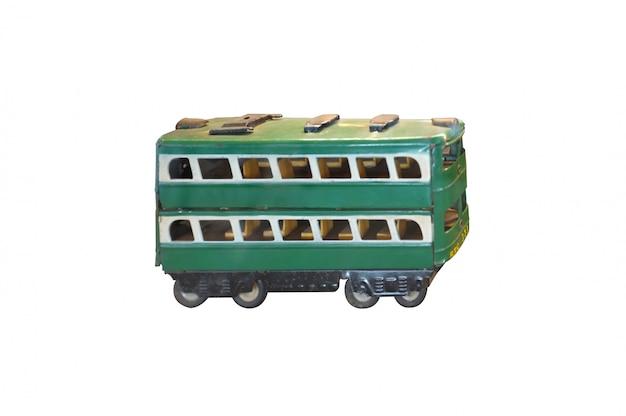 Vintage speelgoedtram