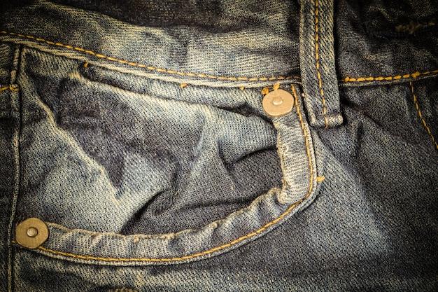 Vintage textuur van spijkerbroek.