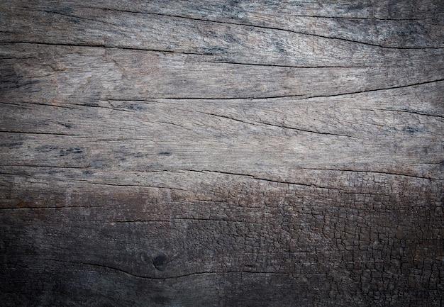 Vintage van crack oud hout natuur textuur achtergrond voor design