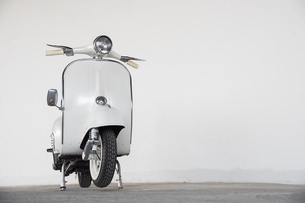 Vintage vespa-scooter