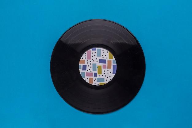 Vintage vinylschijf