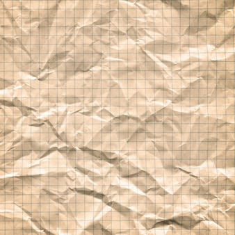 Vintage vuile ruitjespapier.