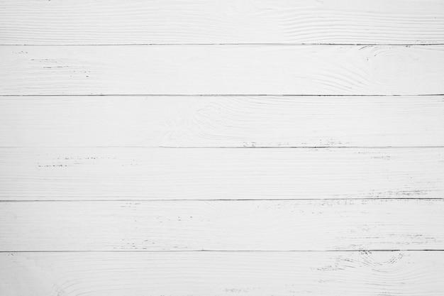 Vintage witte houten achtergrond - oude verweerde houten plank geschilderd in witte kleur.