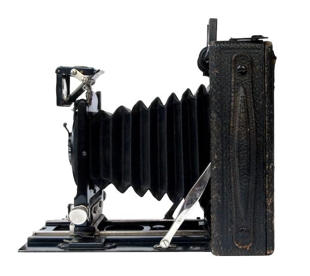 Vintage zwarte camera