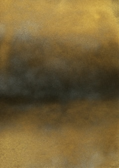 Vintage zwarte en gouden ruistextuur. samenvatting spetterde achtergrond voor vignet.