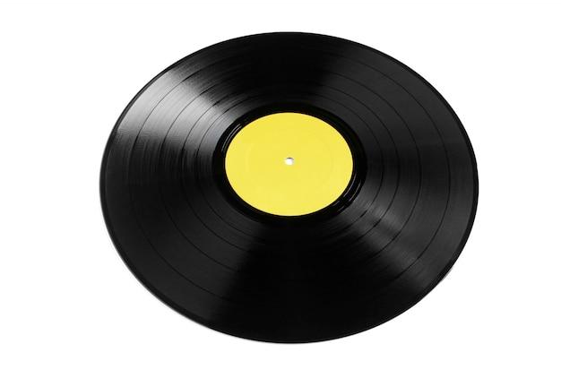Vinyl plaat geïsoleerd