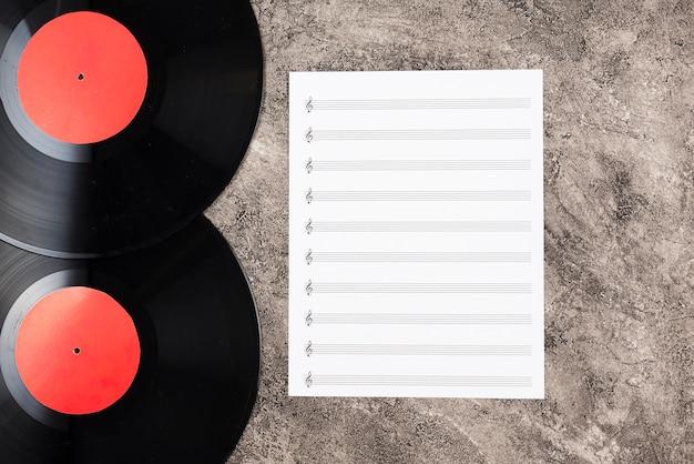 Vinyl schijven