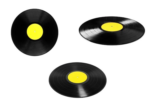 Vinylplaten geïsoleerd