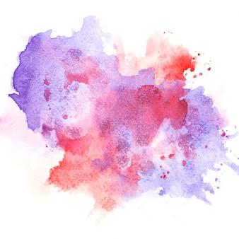 Violet aquarel.afbeelding