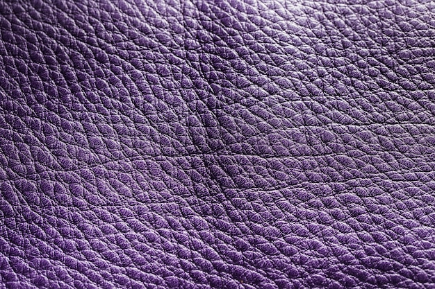 Violet leder textuur achtergrond oppervlak