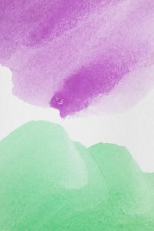 Violette en groene abstracte pasteltinten