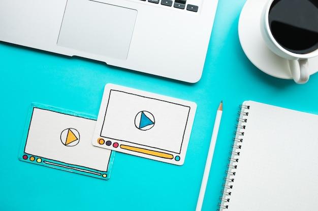 Virale marketing, sociale media, online marketingconcepten