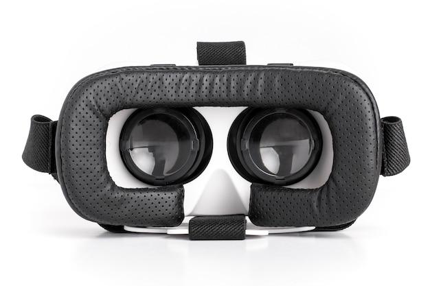 Virtual reality bril geïsoleerd op wit