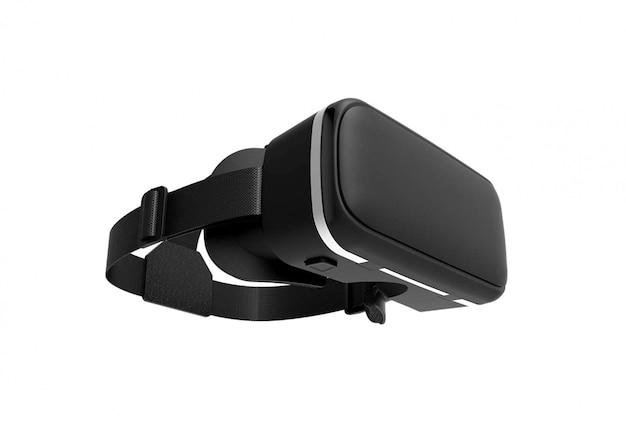 Virtual reality headset geïsoleerd
